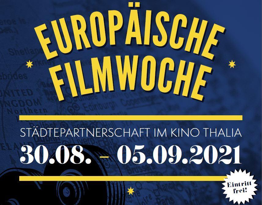 Europäische Filmwoche – Städtepartnerschaft im Thalia Potsdam
