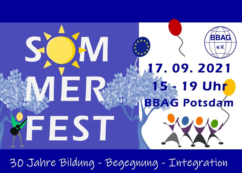 Sommerfest: 30 Jahre BBAG – 17.09.2021