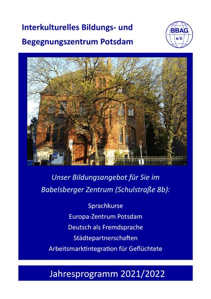 Jahresprogramm 2021/2022 | Interkulturelles Bildungs- und Begegnungszentrum Potsdam