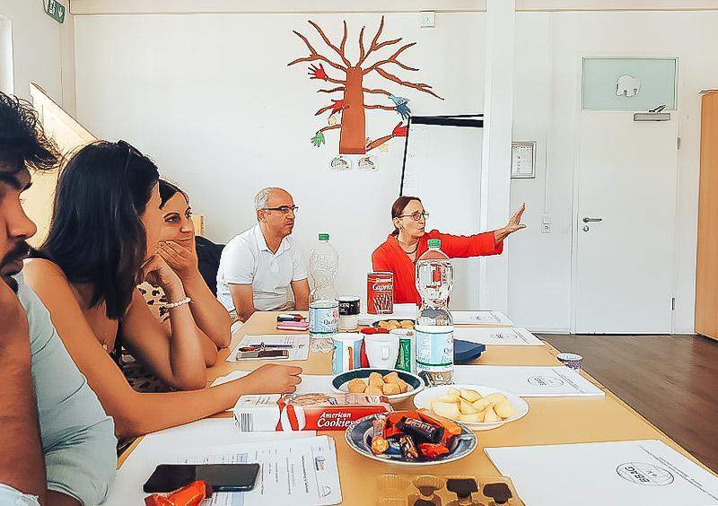 Fortbildung für Geflüchtete am 05.09.2019 – Gemeinschaftsunterkunft Konsumhof, Potsdam