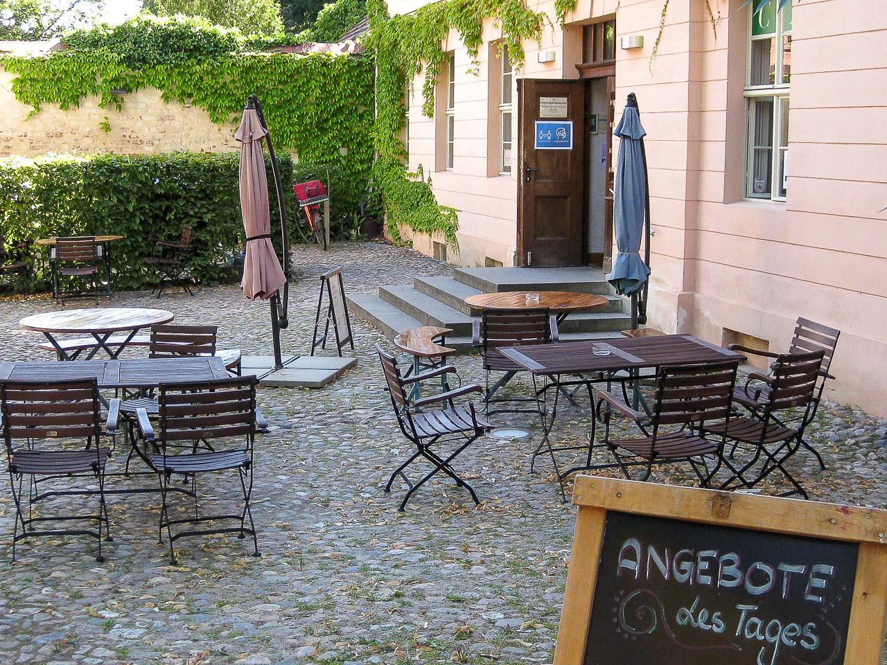 Café Trude – Außenbereich
