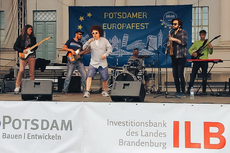 """""""Bez Schematòw"""" aus Opole beim Europafest"""
