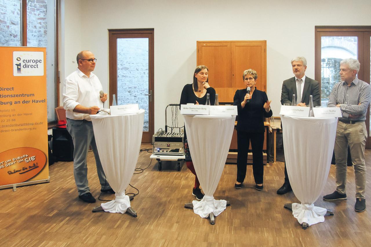 KandidatInnenrunde zur BT Wahl 2017 in Brandenburg